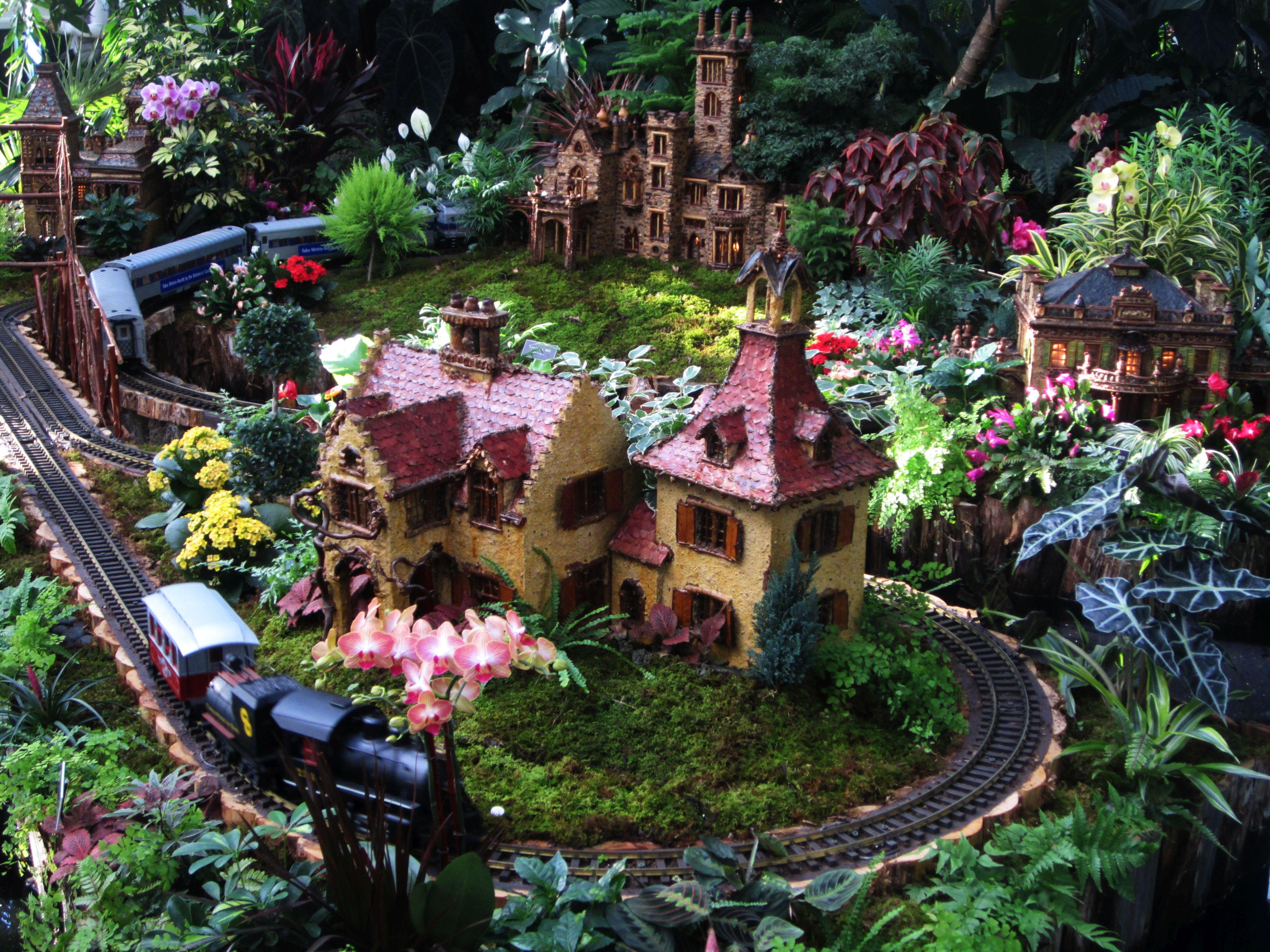 Holiday Train Show New York Botanical Garden Tombarat Photoblog
