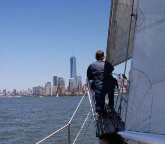 Sailing trip on the Hudson River