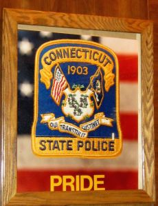 The Connecticut State Police today graduated 58 new State Troopers, all members of the 125th Training Troop.