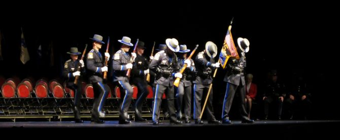 The 125th training troop - Connecticut State Police Training Academy - Graduation